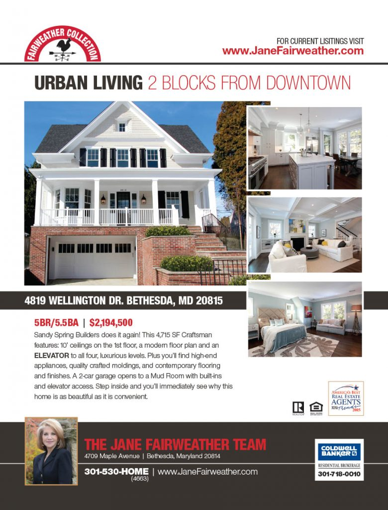 Jane Fairweather Team Real Estate Print Ad