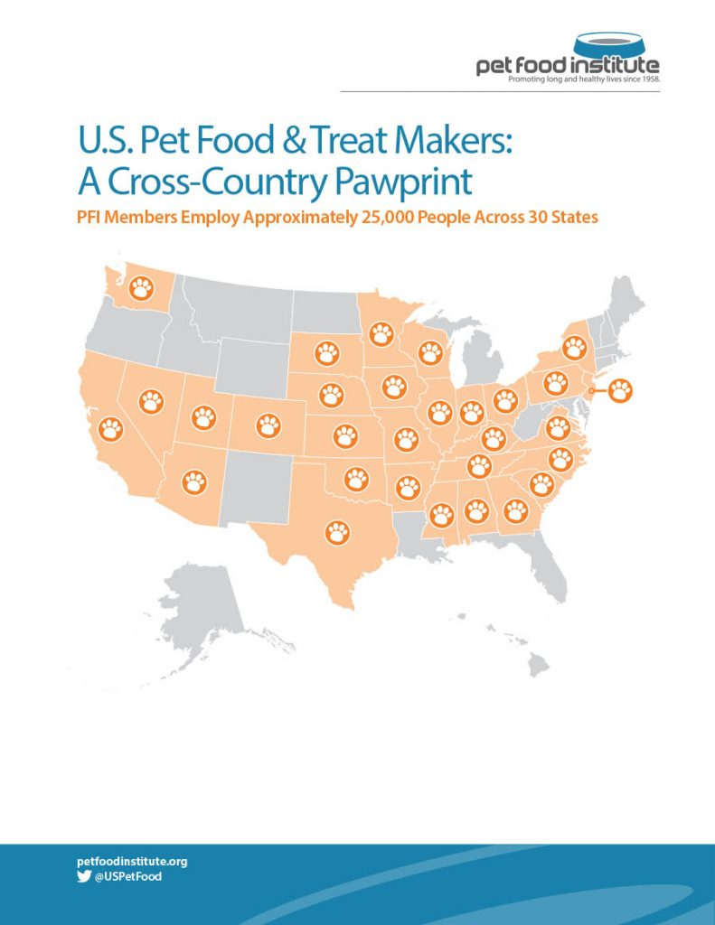 Pet Food Institute Pet Food Supplier Map