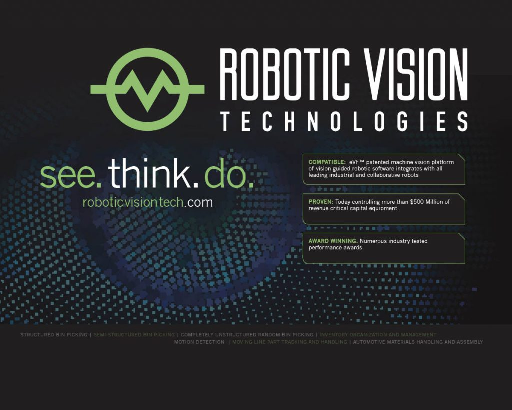 Robotic Vision Technologies Trade Show Display