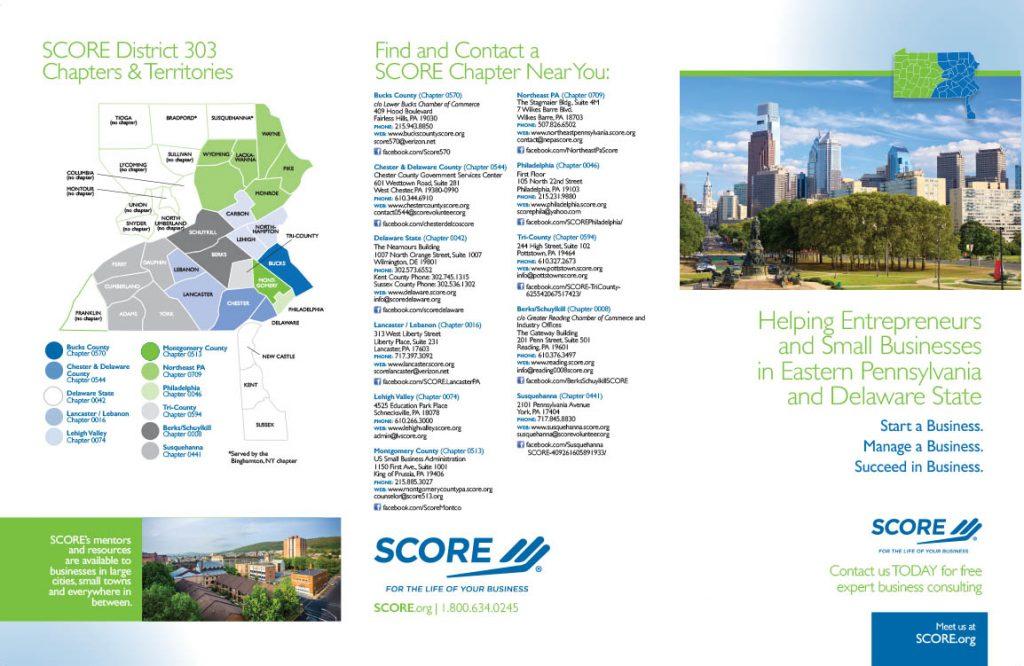 SCORE Chapter Brochure