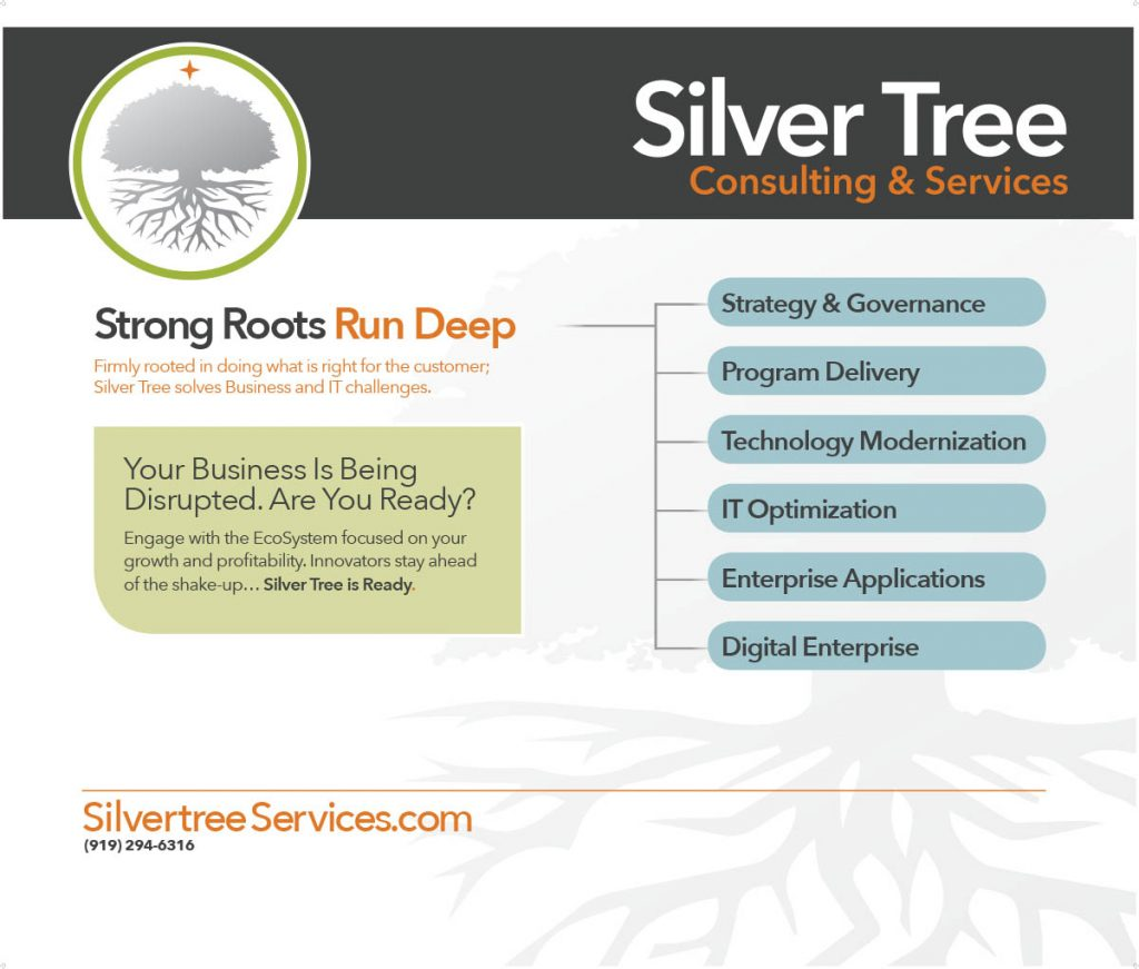 Silver Tree Consulting Trade Show Display