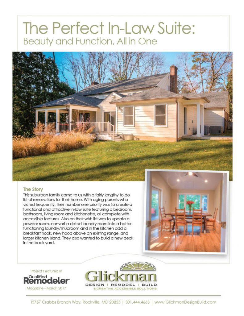 Glickman Design Build Portfolio Piece